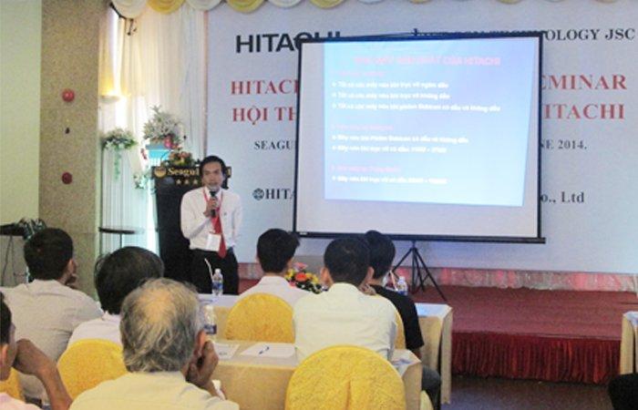 Triễn lãm máy nén khí   HITACHI tại Bình Định 2