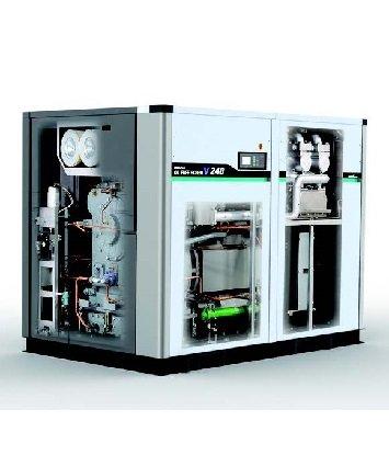 Hitachi oil flooded screw air compressor